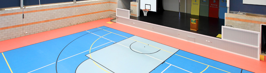 Darling High State School, Queensland, Australia - Decoflex™ Universal Indoor Sports Flooring
