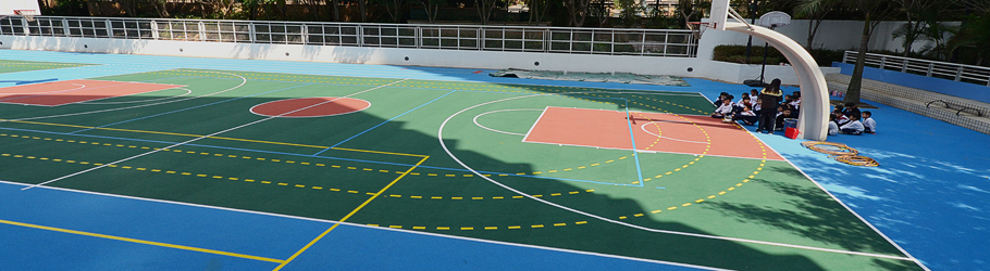 Ma Wan CCC Kei Wan Primary School, Hong Kong, China - Decoflex D Outdoor Sports Flooring