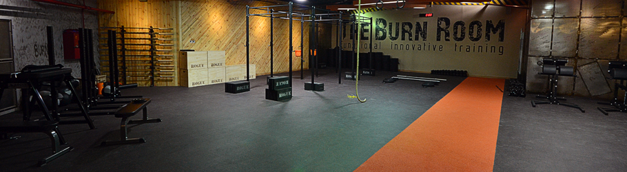 The Burn Room Fitness Center, Dubai, United Arab Emirates - Neoflex Fitness Flooring