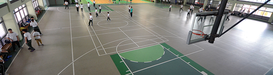 De LaSalle College, Manila, Philippins - Decoflex™ Universal Indoor Sports Flooring