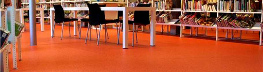 Public Library, Alblasserdam - Neoflex™ Floor 600 Series Custom Color