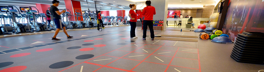 Fitness First Avenue K Mall, Malaysia - Neoflex™ REPtiles Agility & Functional Fitness Flooring