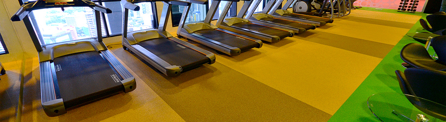 Menara Maybank Recreation Centre, KL, Malaysia - Neoflex™ Fitness Flooring - Ladies' Gym
