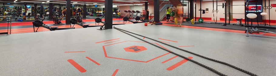 Fitness First Bond Street, Sydney, Australia - Neoflex™ 700 Series REPtile Fitness Flooring